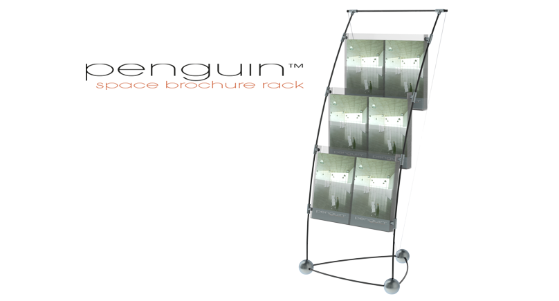 space brochure rack